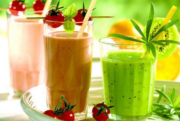 果蔬百科常见蔬菜汁的食疗保健功效
